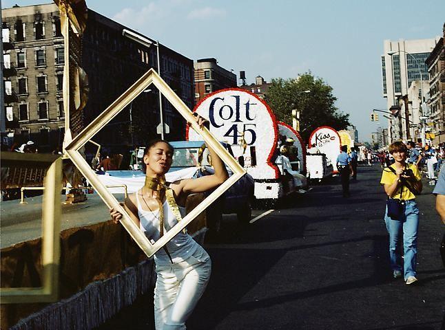 Lorraine O'Grady, Art Is. . . (Line of Floats) (1983/2009)