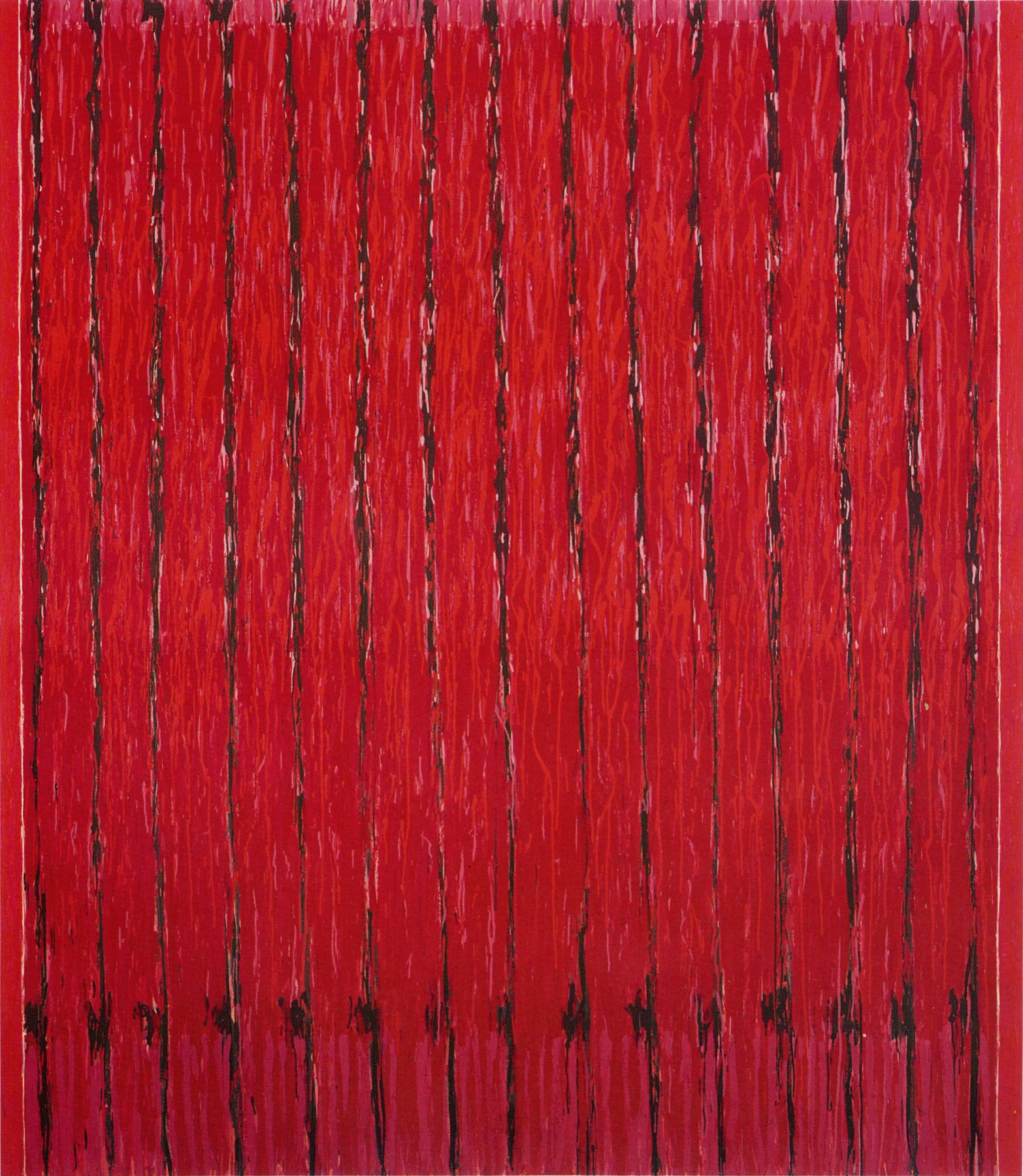 Redfield, 1968-72, Oil on canvas