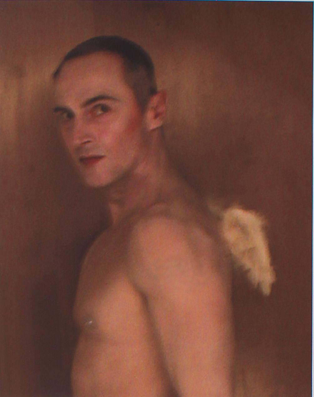Self Portrait as Cupid, 2006, Archival digital print on canvas, 28.25h x 22w in (71.76h x 55.88w cm)