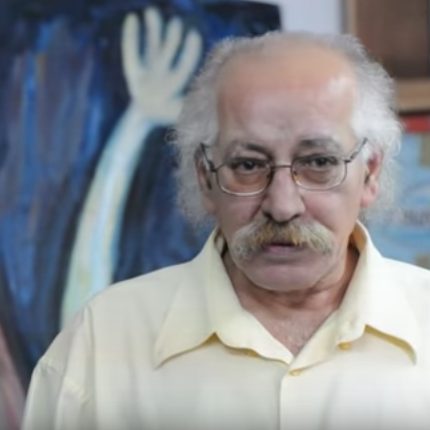 Hassan Sharif on his art, at The Flying House, UAE (2010).