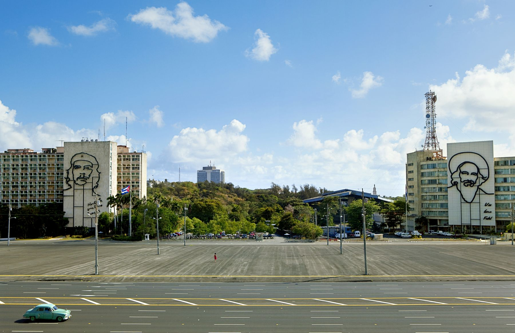 The Empty Plaza / La Plaza Vacia I,2012, Digital Chromogenic Print,25.38h x 39.5w in (64.47h x 100.33w cm)