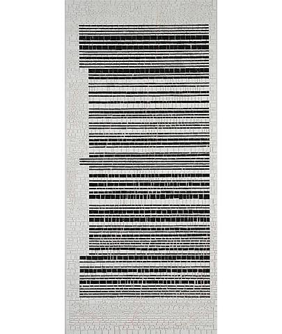 Jack Whitten Bar Code #I (Rutilation: For Mary) (2007)