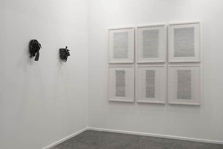Melvin Edwards, Addis A. (2007); Melvin Edwards, Bara Niasse Tugge (2008); Hassan Sharif, Horizontal Lines (2012)