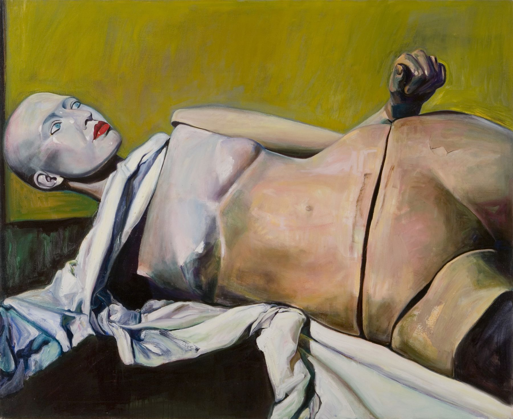 Odalesque, 1998, Oil On Canvas