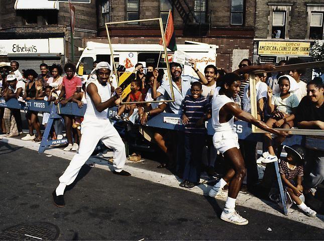 Lorraine O'Grady, Art Is. . . (Guys in a Crowd) (1983/2009)
