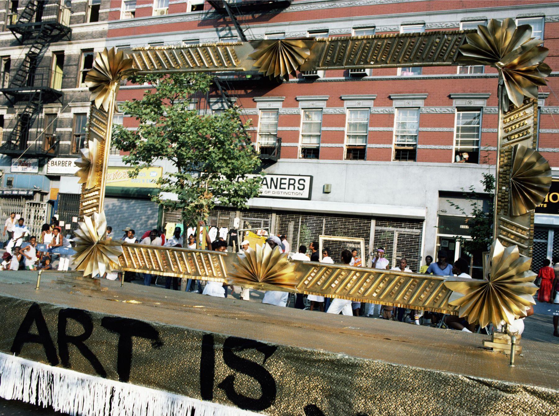 Art Is. . . (Window Grilles), 1983/2009, C-print