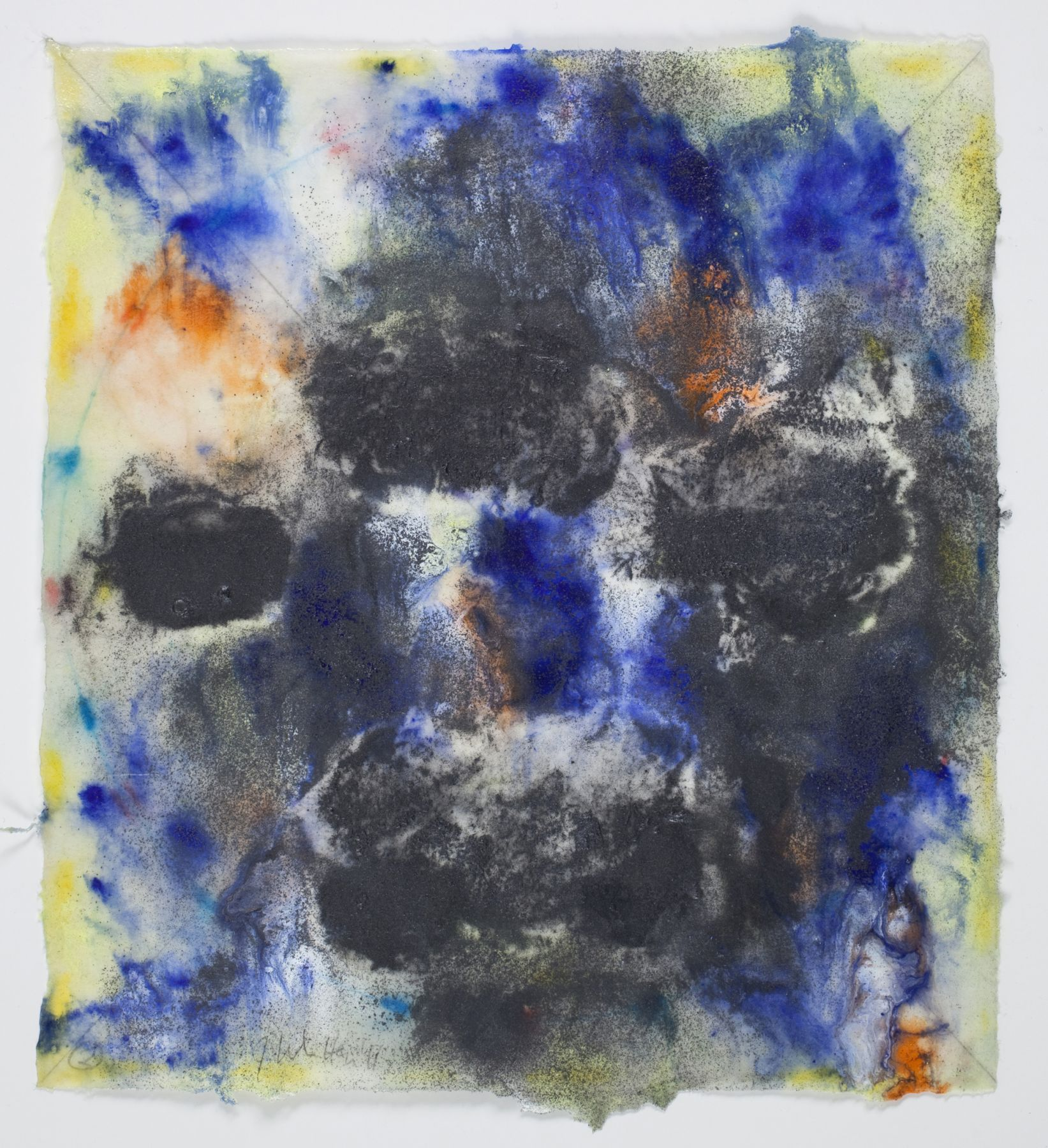 Saturation #2, 2011, Mixed Media On Paper