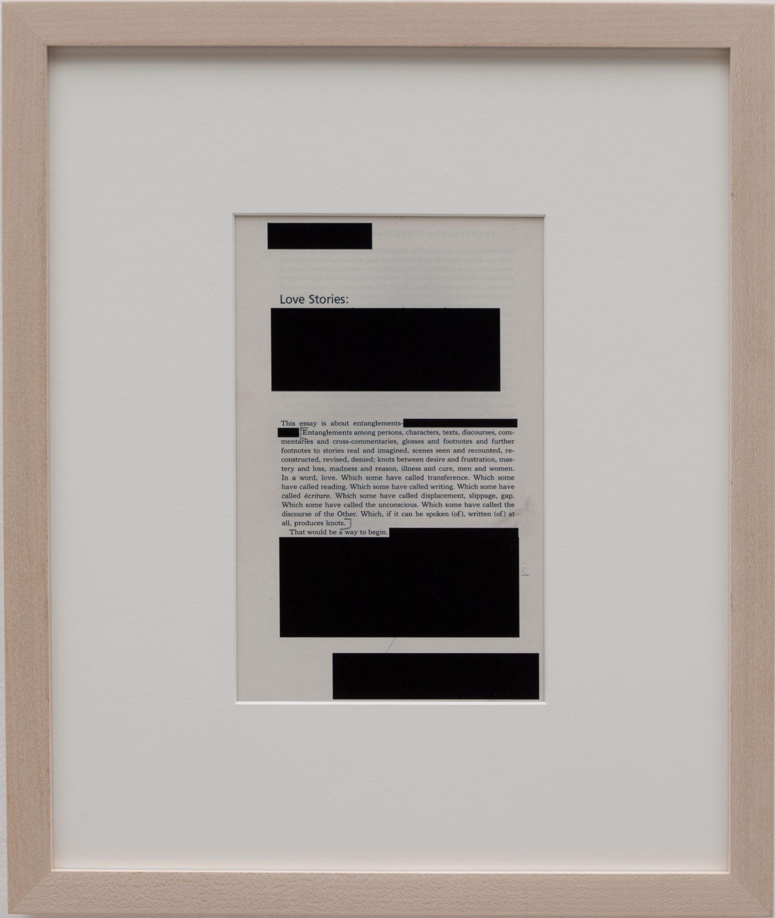 Valeska Soares, Edit (Love Stories), 2012