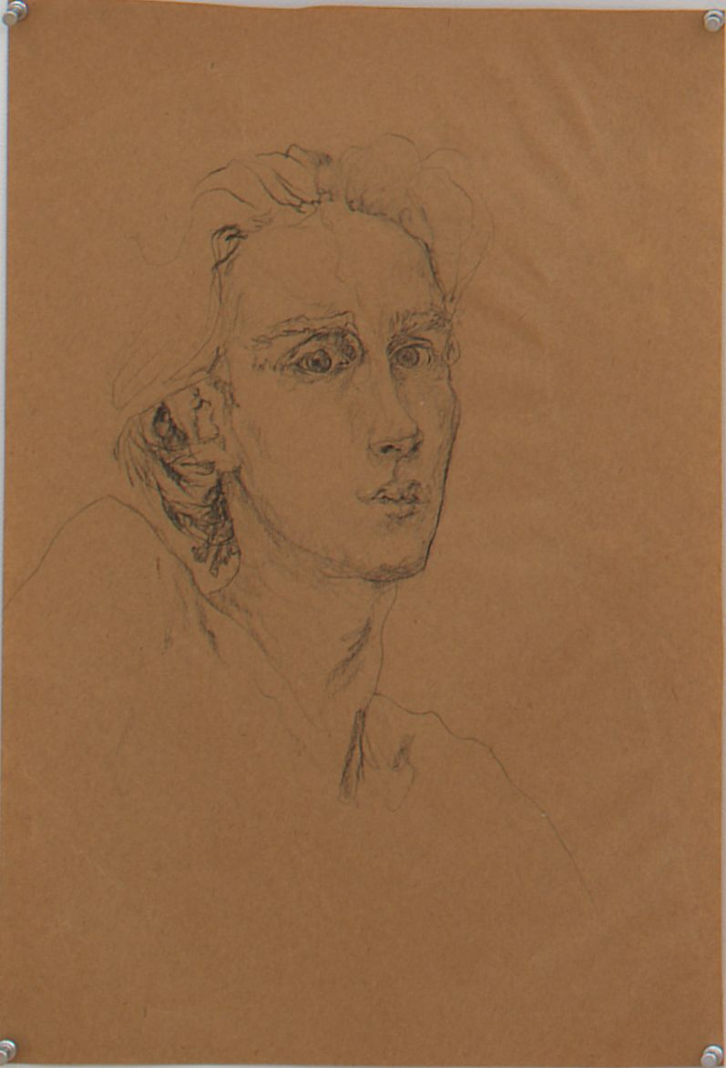 Untitled I, 1976, Graphite on paper