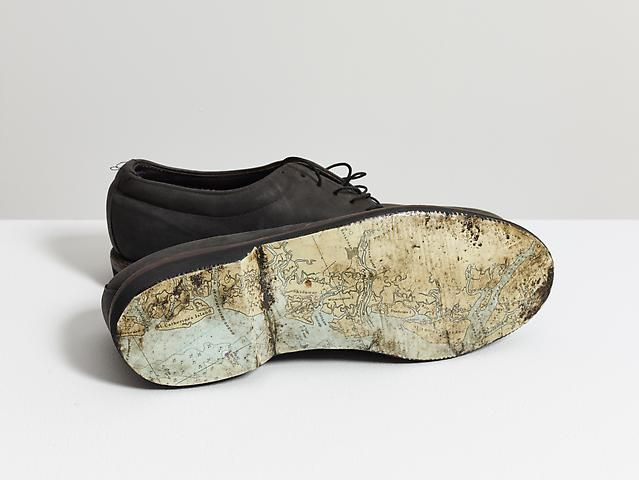 Luis Camnitzer Shoes, 1998-1999