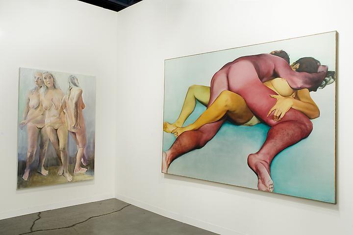 Joan Semmel: The Unchosen (2011); Hold (1972)