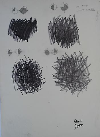 Hassan Sharif One Minute Drawing (1982)