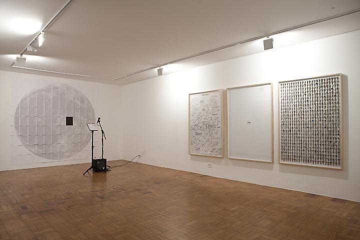 Paper Moon (I create as I Speak) (2007) and Talisman (2008)