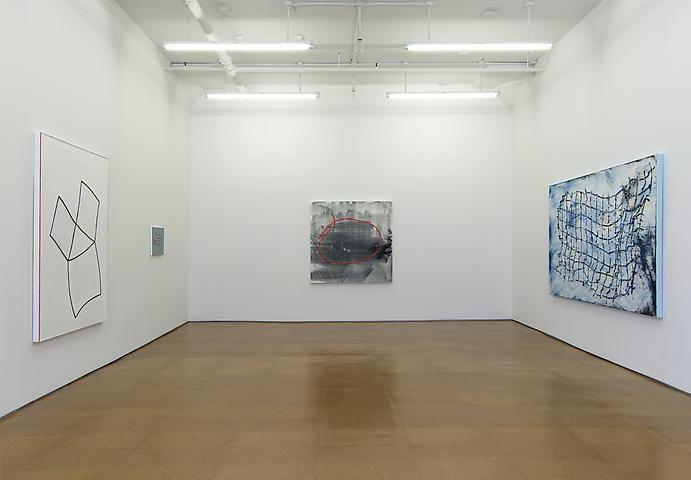 Jack Whitten Installation view, Alexander Gray Associates (2013)