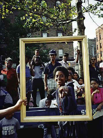 Lorraine O'Grady, Art Is. . . (Girl Pointing) (1983/2009)
