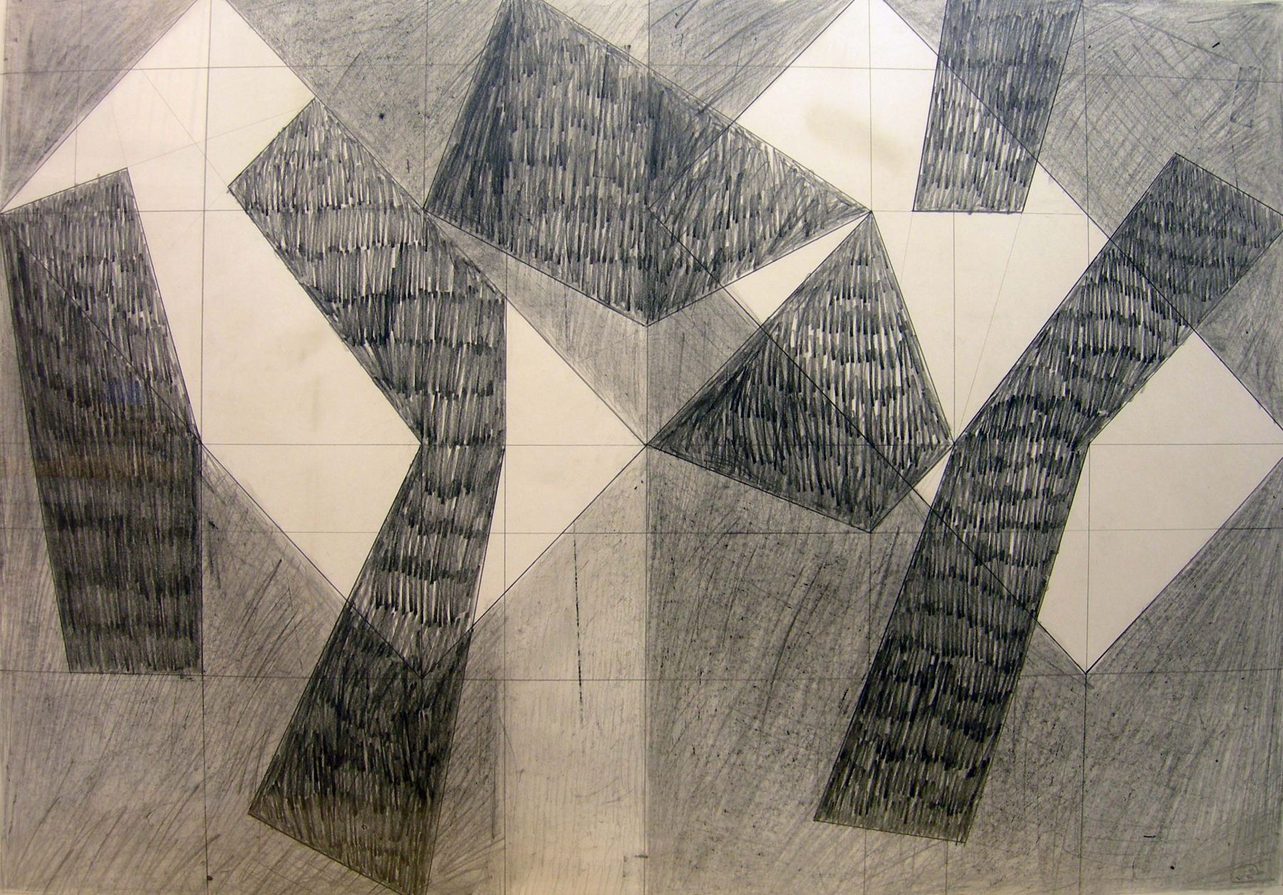 Jack Tworkov, L. B. Pencil Drawing #2, 1979