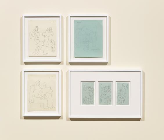Sergei Eisenstein, installation view, Alexander Gray Associates (2017)