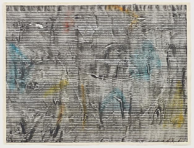 Jack Whitten Study for Greek Alphabet Series #3 (1977)