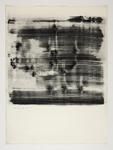 Jack Whitten Study for Omalos #4 (1974)