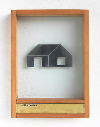 Luis Camnitzer Casa; Hogar (1973-1976); Mixed media