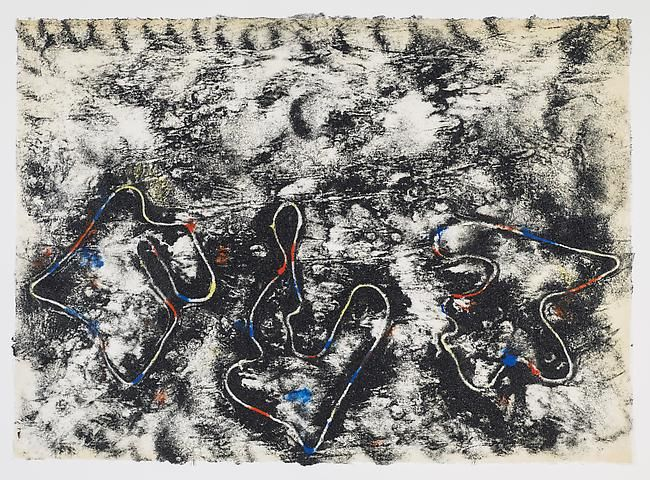 Jack Whitten, Closed Loops #1 (2012)