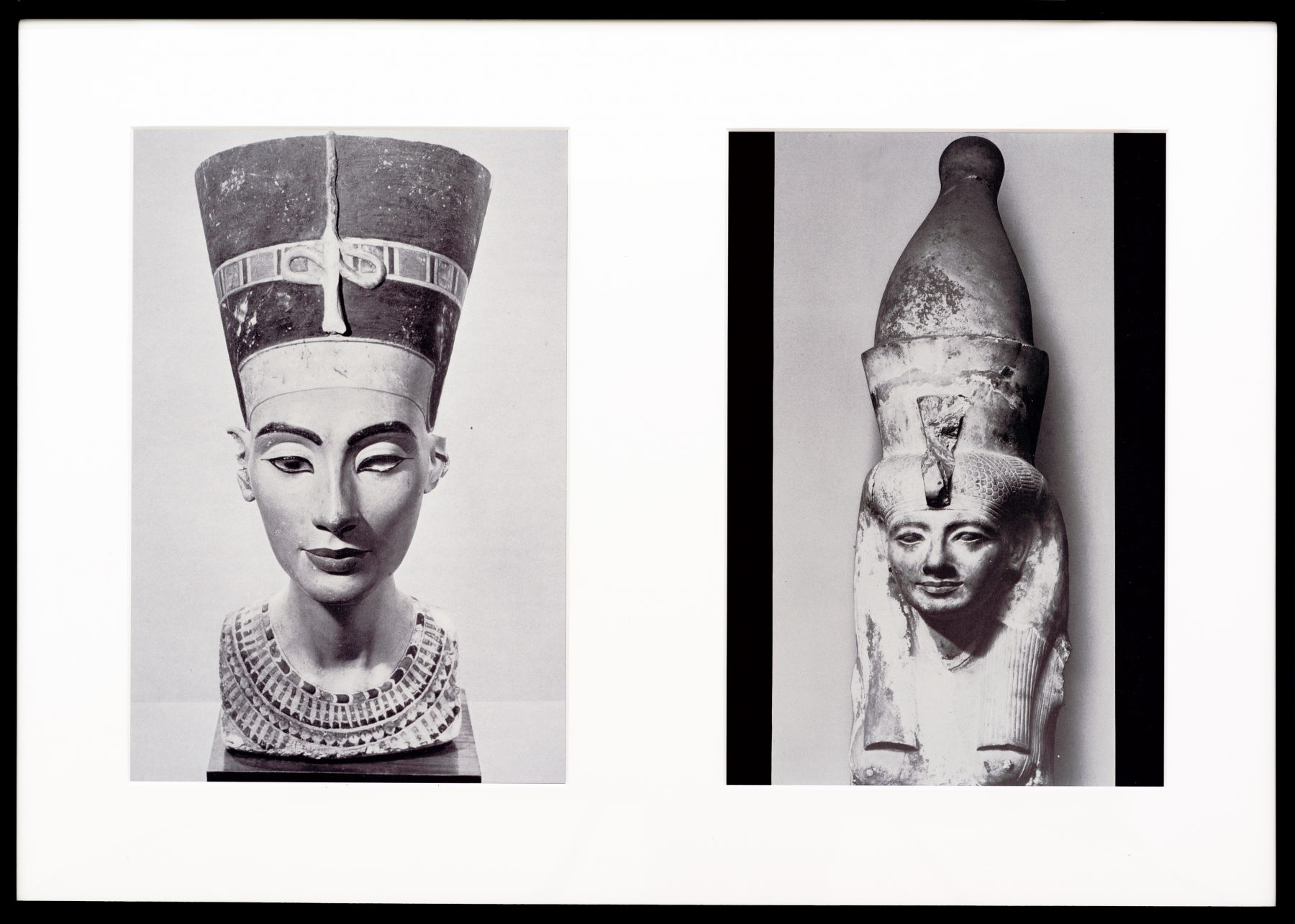 Miscegenated Family Album (Sibling Rivalry) L: Nefertiti; R: Nefertiti's sister, Mutnedjmet, 1980/1994, Cibachrome prints, 26h x 37w in (66.04h x 93.98w cm)