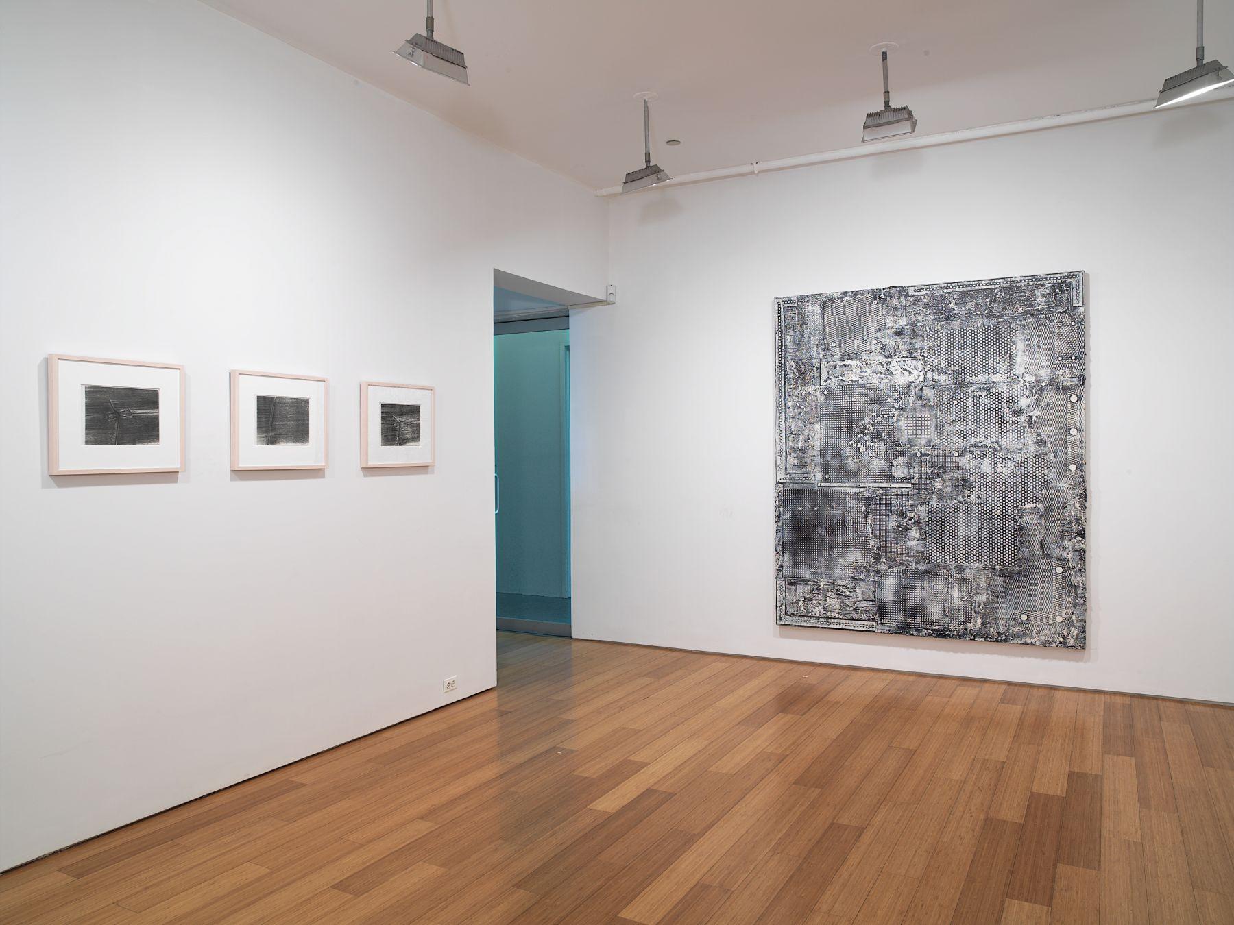 Jack Whitten,Installation view,Alexander Gray Associates, 2007