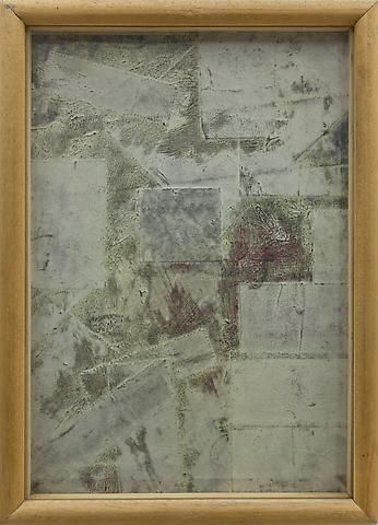 Untitled (1964) Mixed media collage