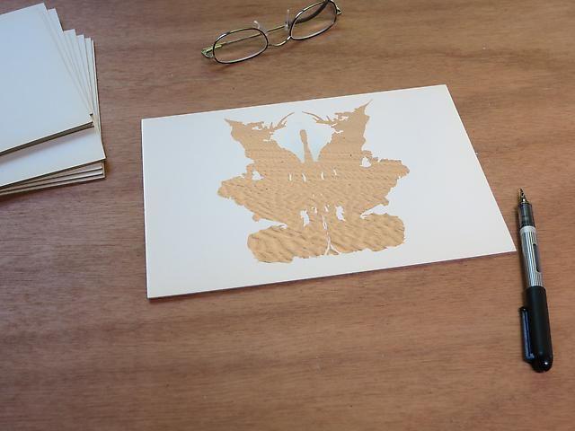 Luis Camnitzer; Rorschach Series, Rorschach 9 (2012)