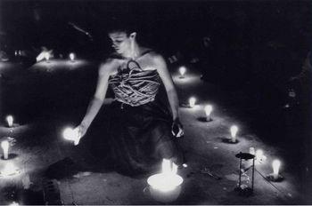 Votos, performance,3rd Annual Performance Festival in Odense, Denmark (1999-2000)