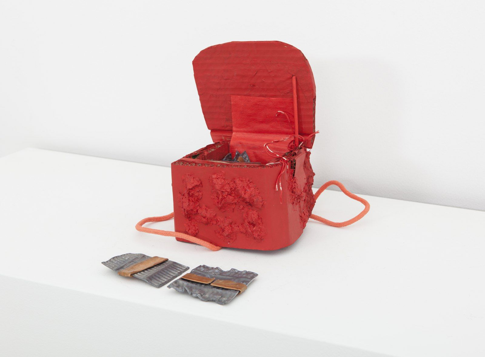 Box No 2 - Red, 2014, Mixed Media
