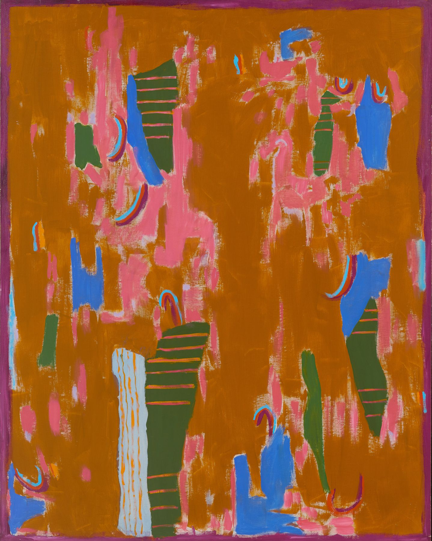 Journey (1975) Acrylic on canvas