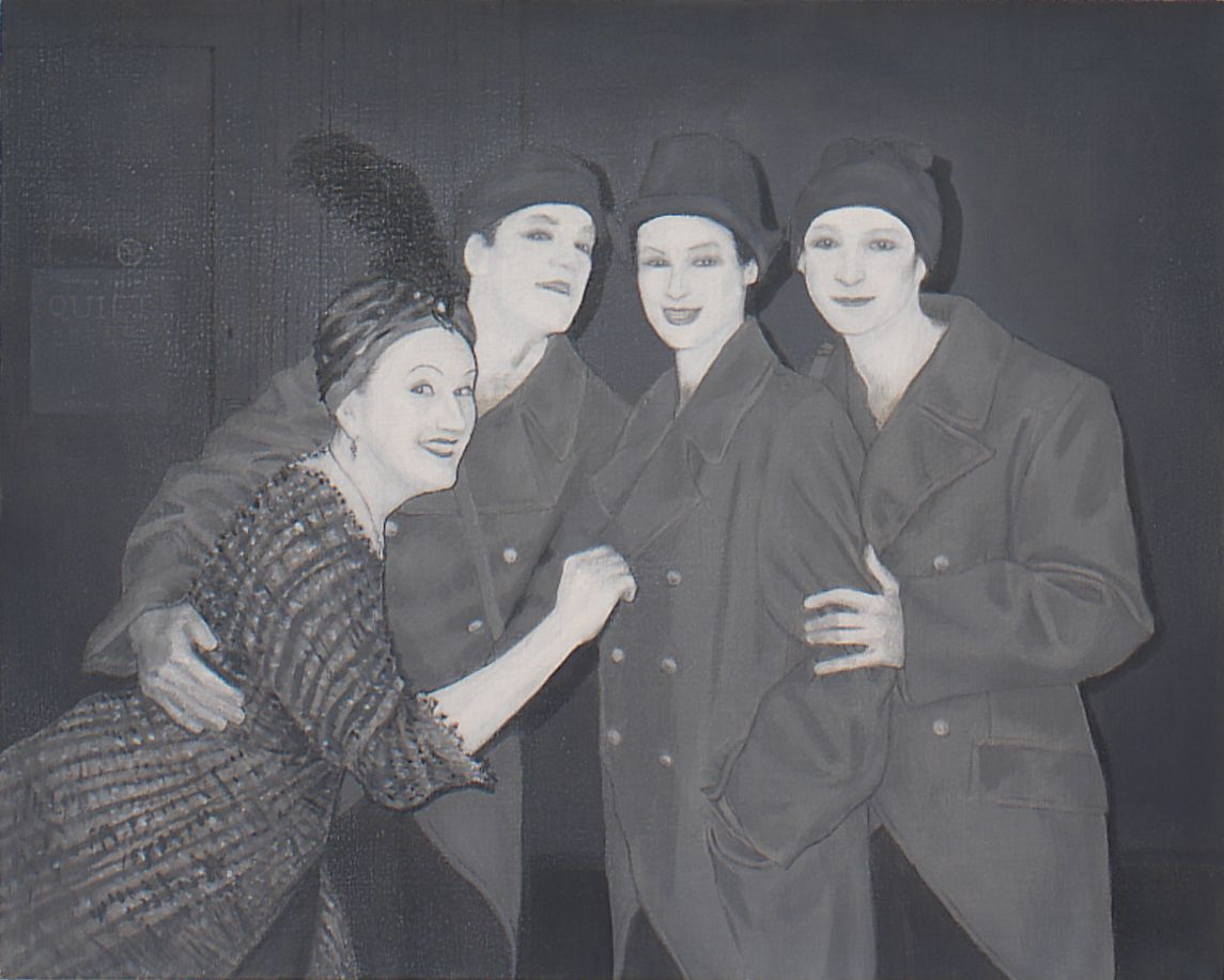 Untitled (Cast of Moondrunk), 2003, Oil on linen
