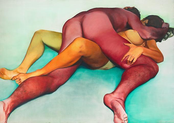 Joan Semmel, Hold (1972)