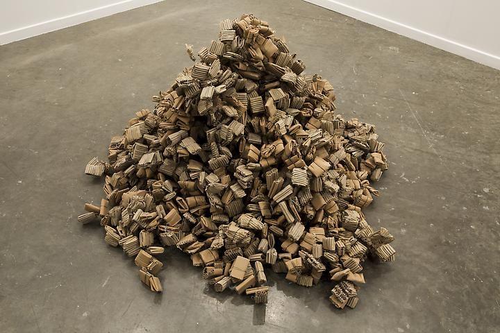 Hassan Sharif Cardboard & Wire (1996)