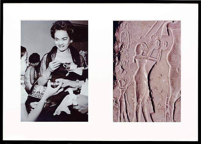 Lorraine O'Grady, Miscegenated Family Album (Ceremonial Occasions II),