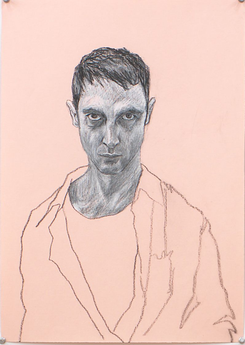Untitled VII (from Black and White Series), 1996, Pencil on paper