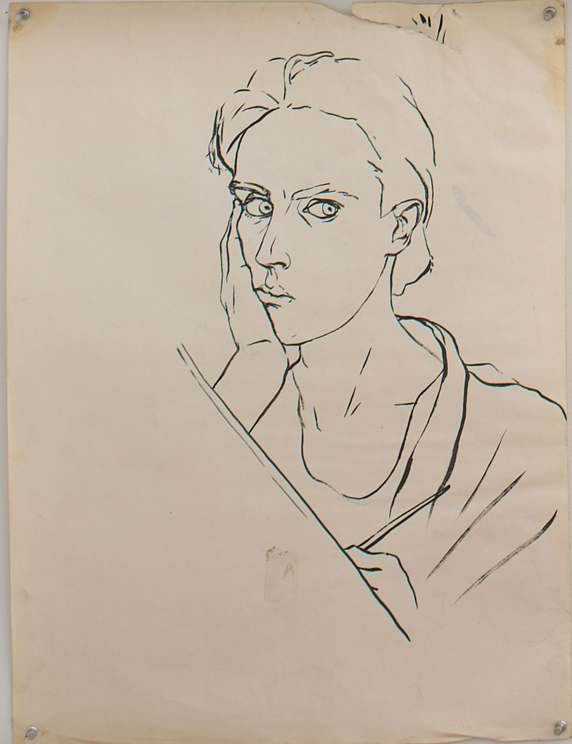 Untitled I, 1979, Ink on paper