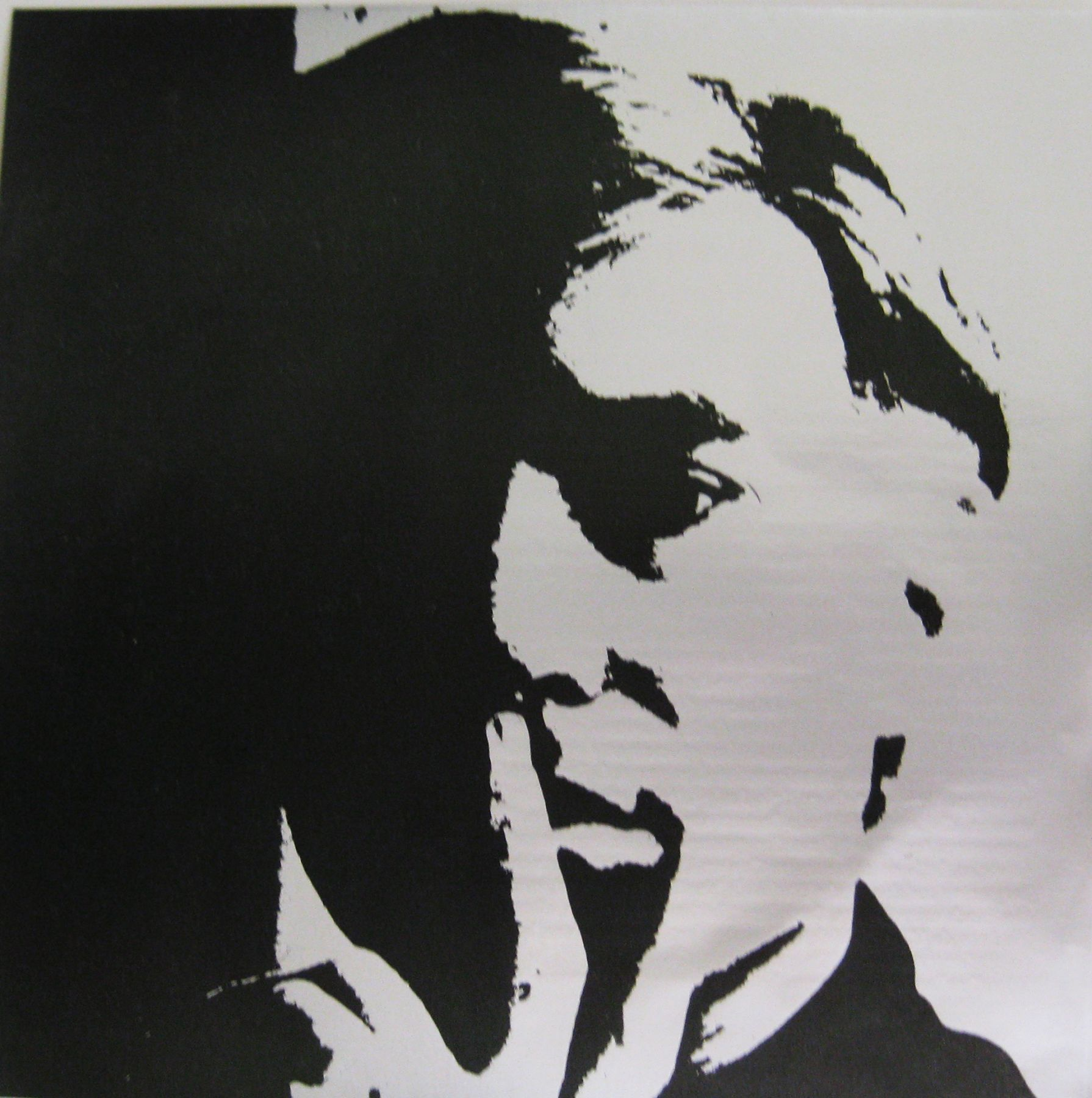 """ANDY WARHOL. """"Self-Portrait (Galerie Delta). 1967. Image courtesy of Alden Projects™, New York."""