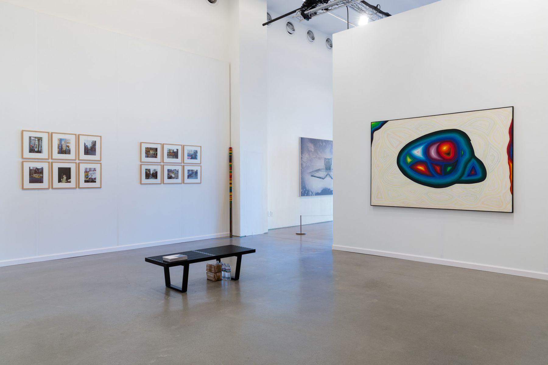 AndréCadereHervé Bize at Independent New York 2017Photo: Etienne Frossard