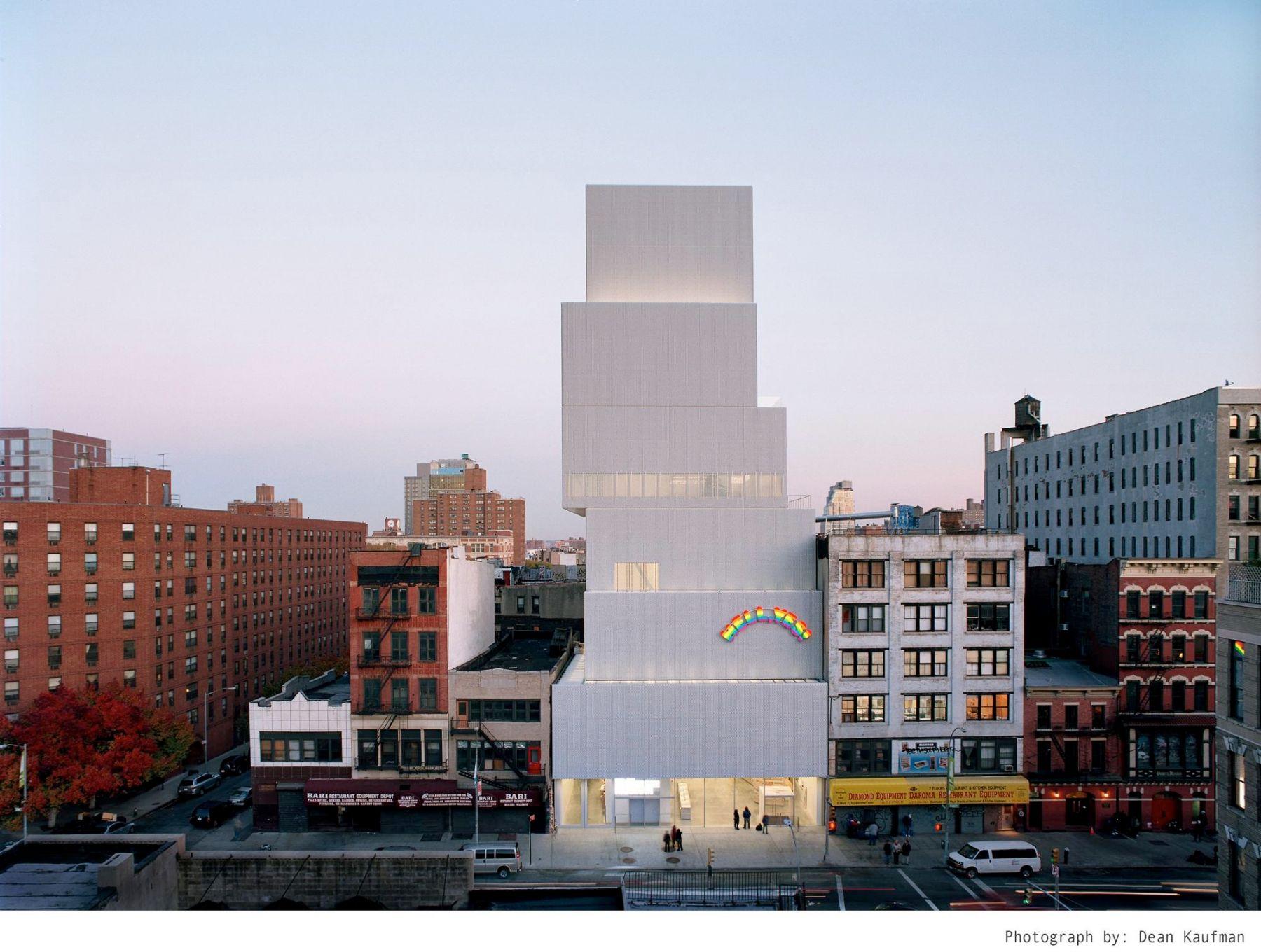 New Museum facade, 2007–
