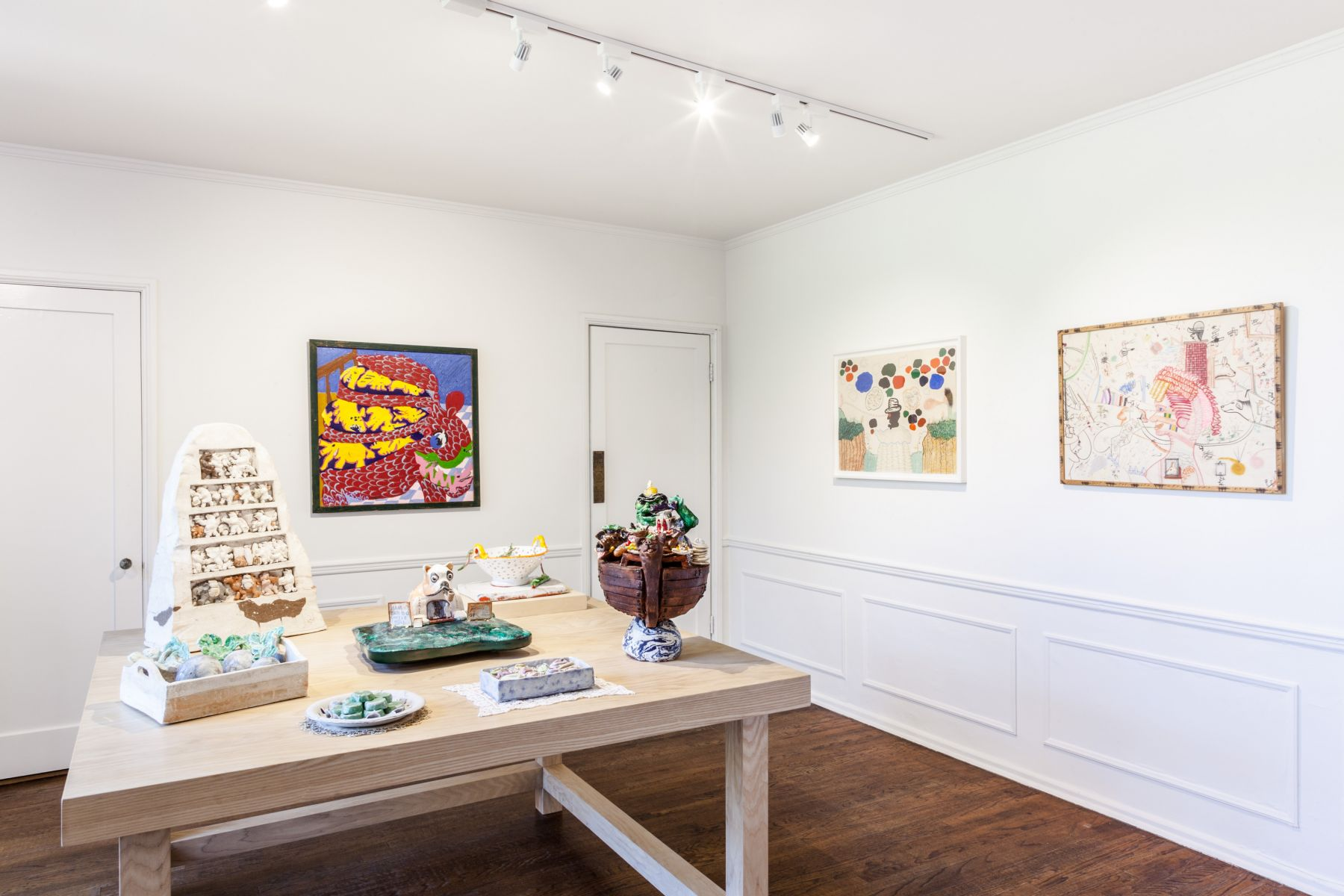 Exhibition view, The Candy Store, 2018. Courtesy of Parker Gallery, Los Angeles.