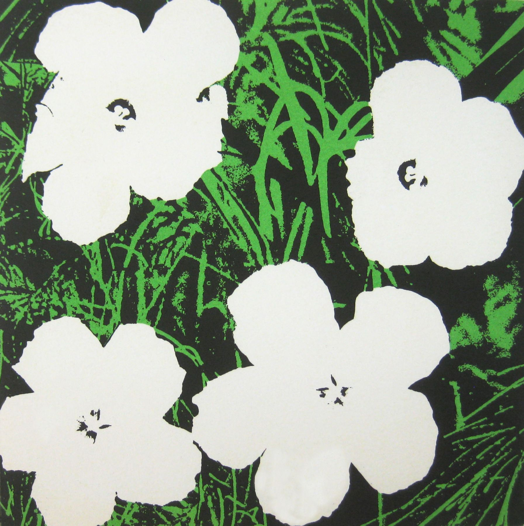 """ANDY WARHOL. """"Flowers (MoMA)"""". 1965. Image courtesy of Alden Projects™, New York"""