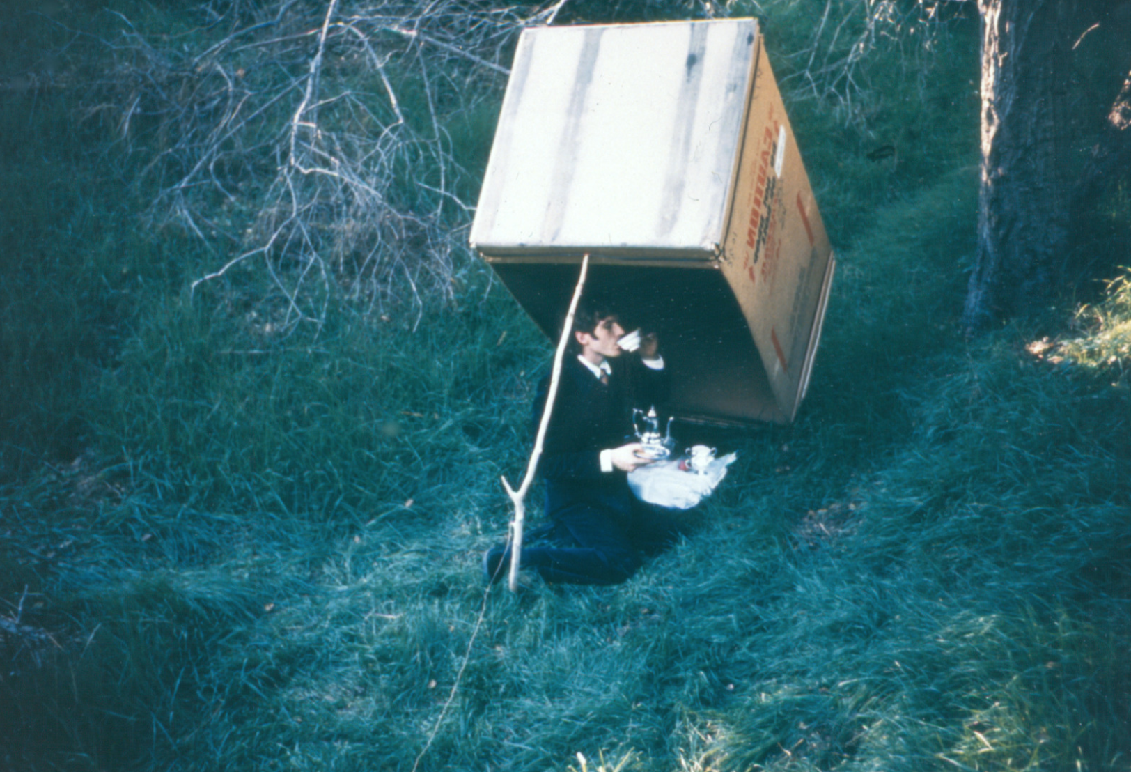 Bas Jan Ader Untitled (Tea party), 1972