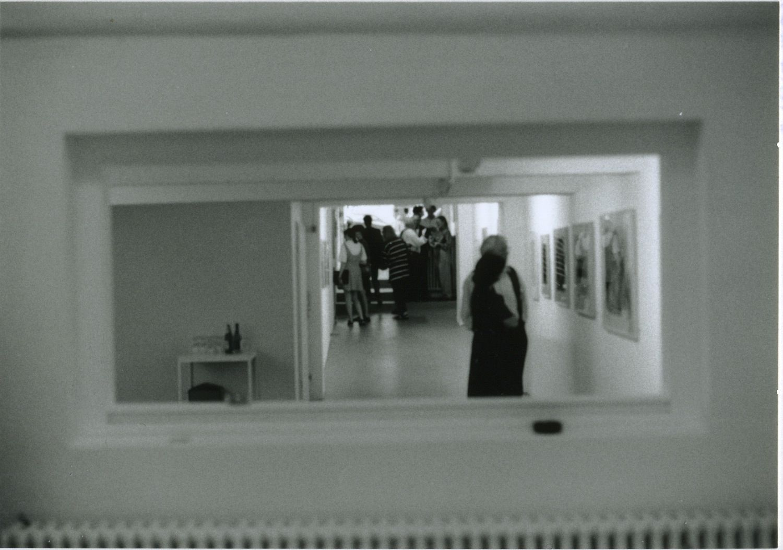 The gallery's first-ever exhibition in 1992, Arnulf Rainer, Art Brut Hommagen