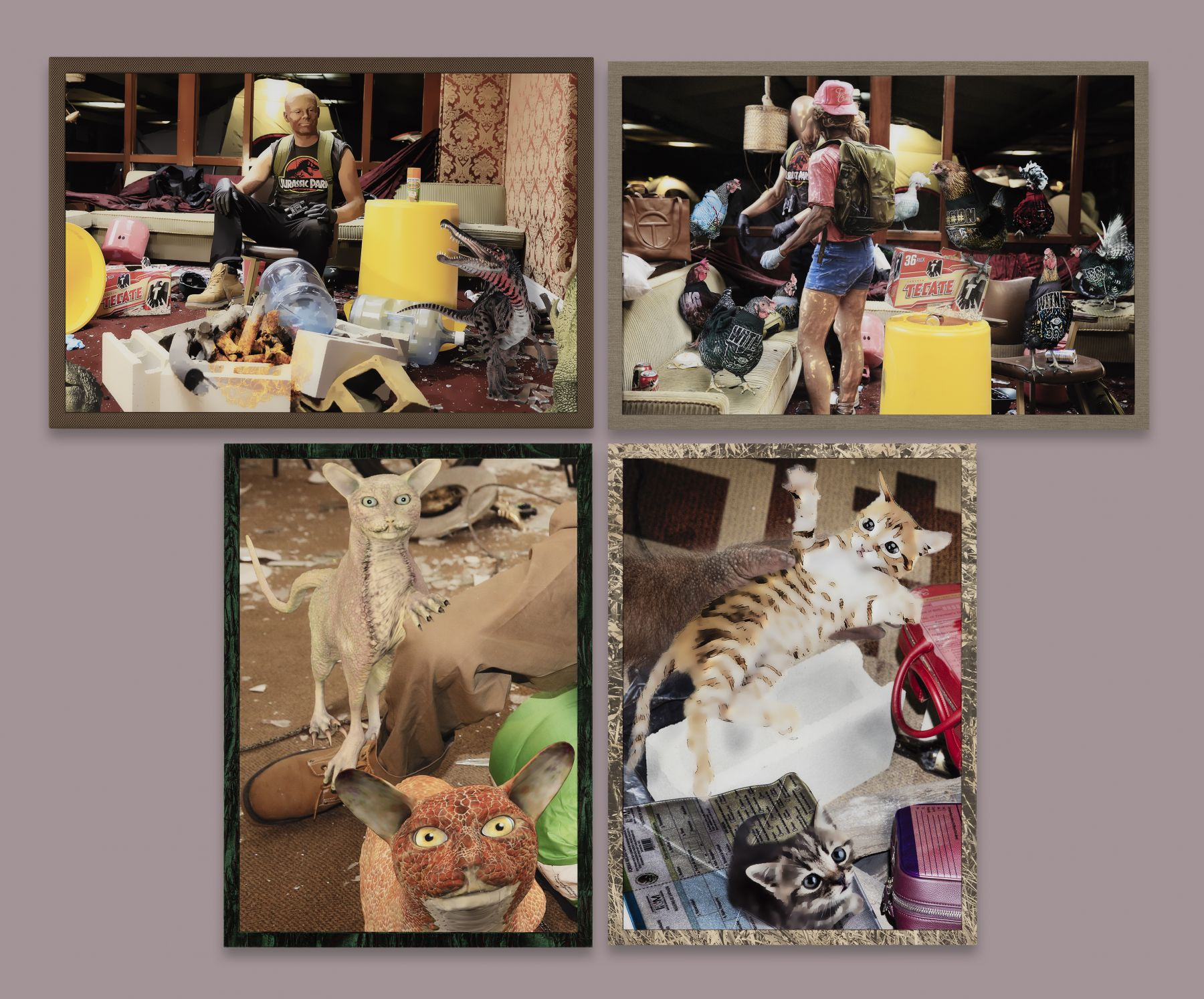 "Ryan Trecartin, ""Arrive Alive Tickle Pets"", 2015"