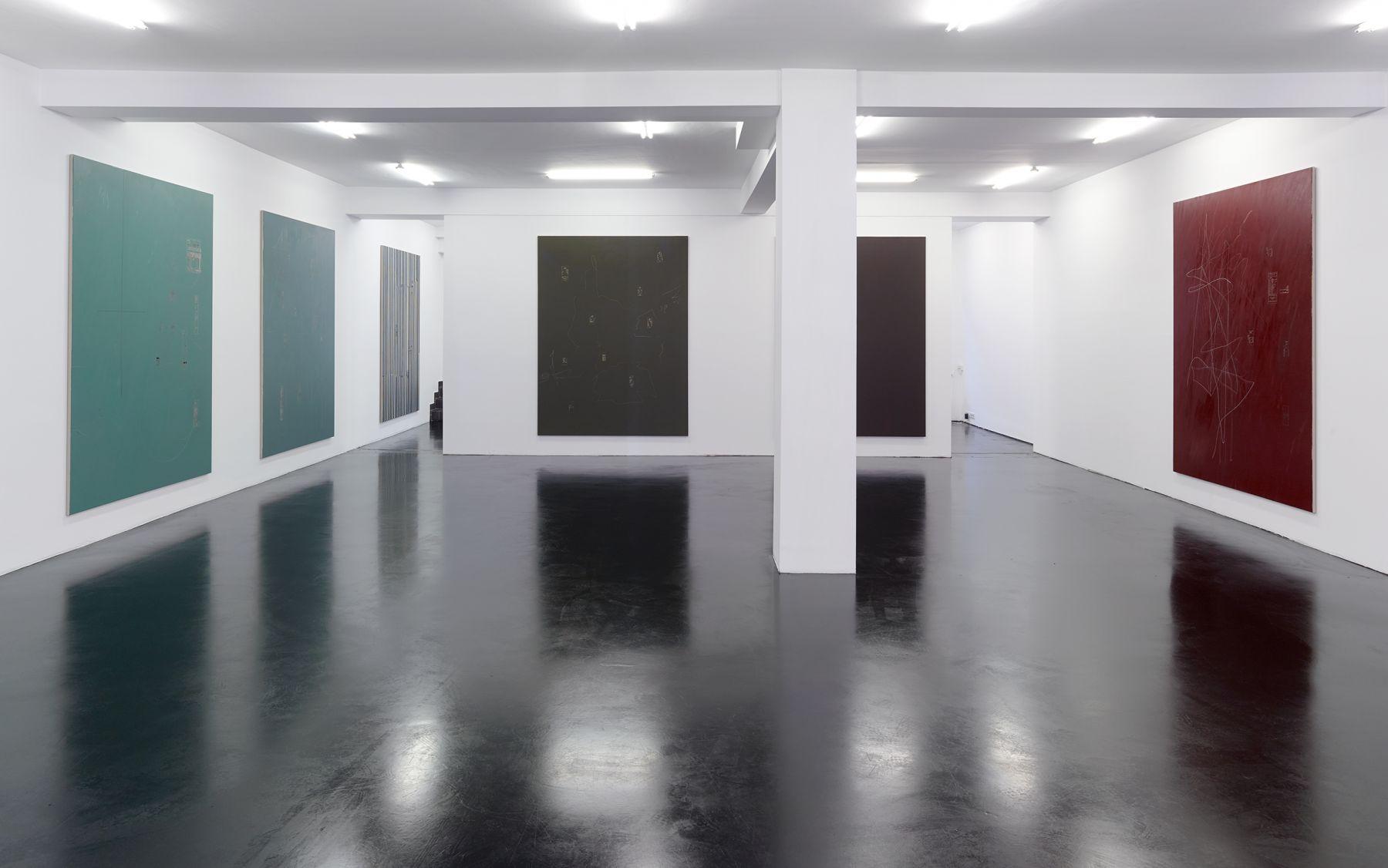 Egan Franz. Not Yet No Longer. Installation View Galerie Nagel Draxler Cologne 2018. photo credit: Simon Vogel