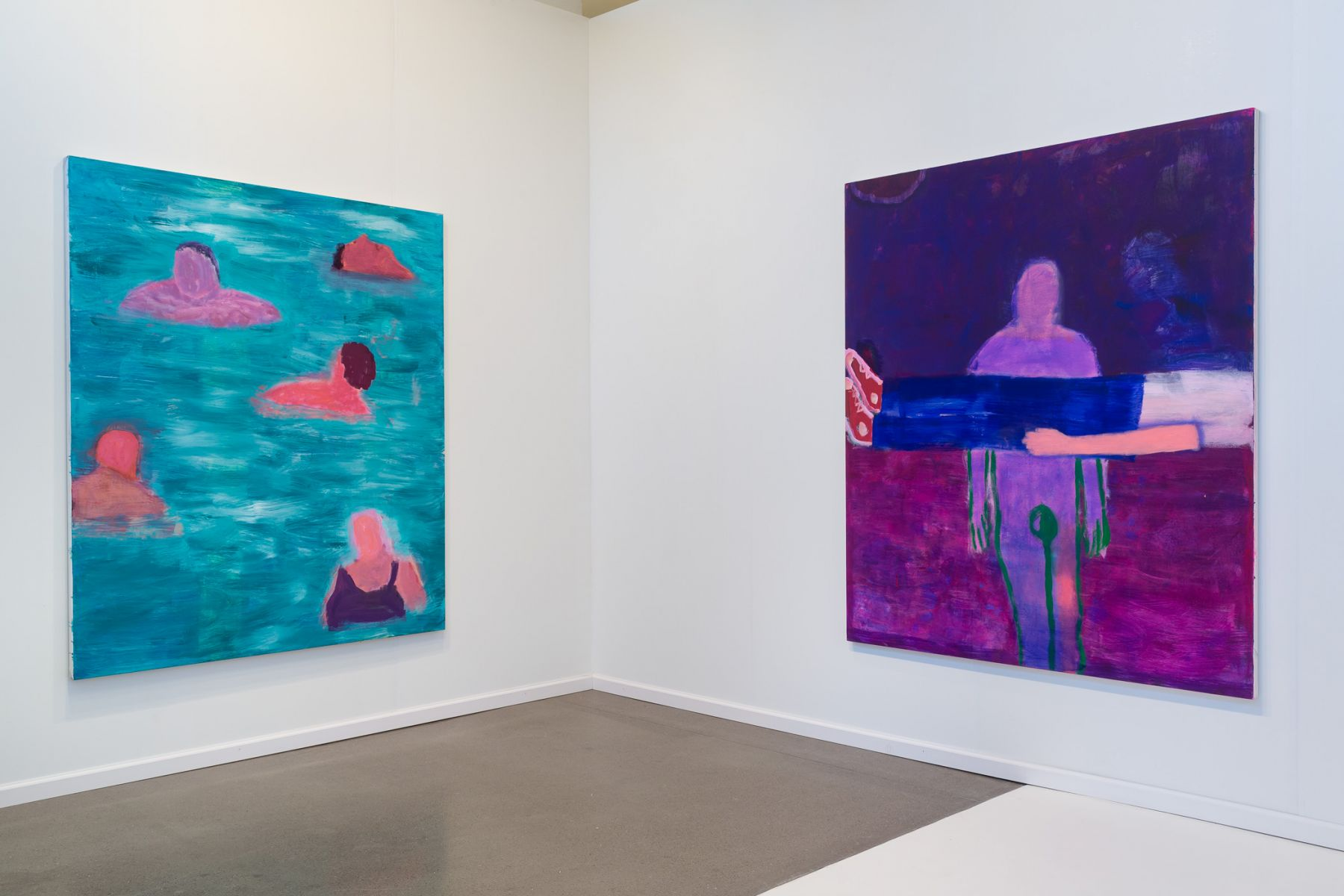 Katherine Bradford at CANADA at Independent New York, 2017