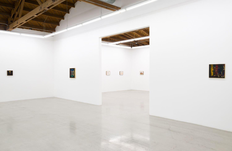 Installation view, Forrest Bess   Joan Snyder, May 13 - June 24, 2017, courtesy Parrasch Heijnen Gallery