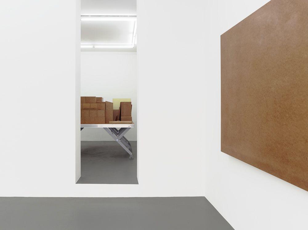 "2014 | Installation View, ""Raum 19 IV"" by Imi Knoebel"